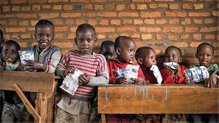 School children in Burundi