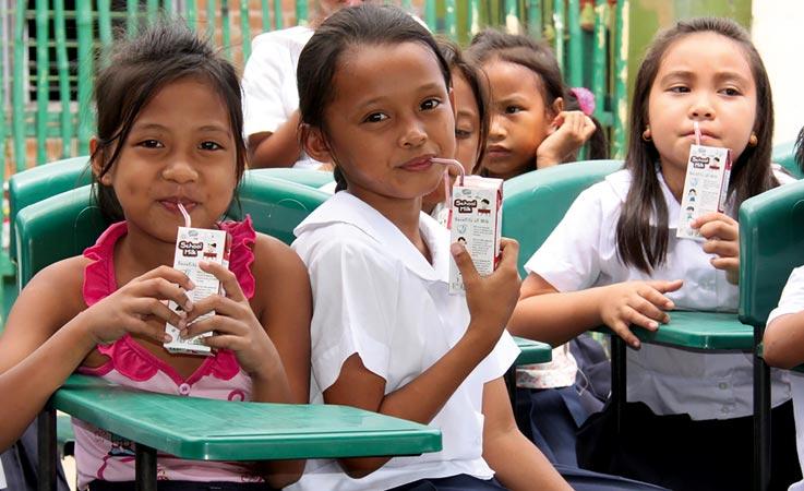 School children, school feeding programme