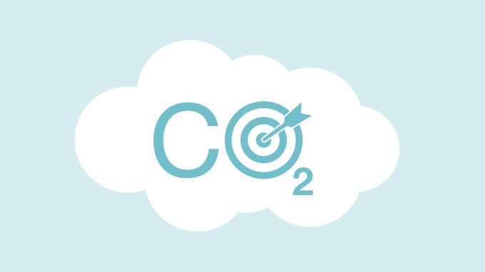 Co2 in target
