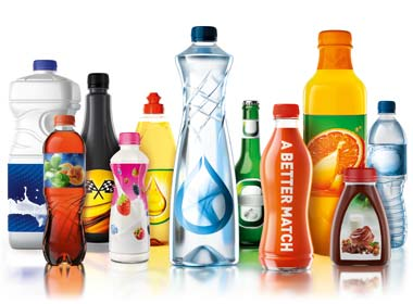 Sidel products, PET bottles