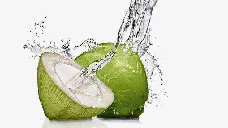 Fresh coconut, coconut water