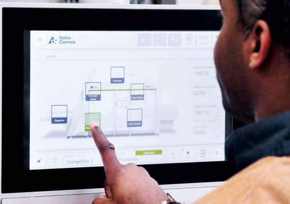 Gebo Cermex, smart machine interfaces