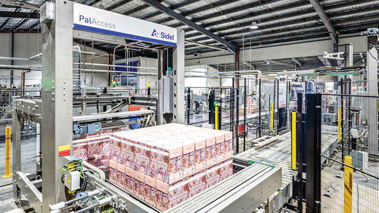 Sidel PalAccess® palletiser