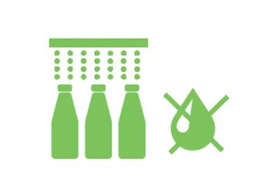 Sustainability Sidel aseptic PET bottles
