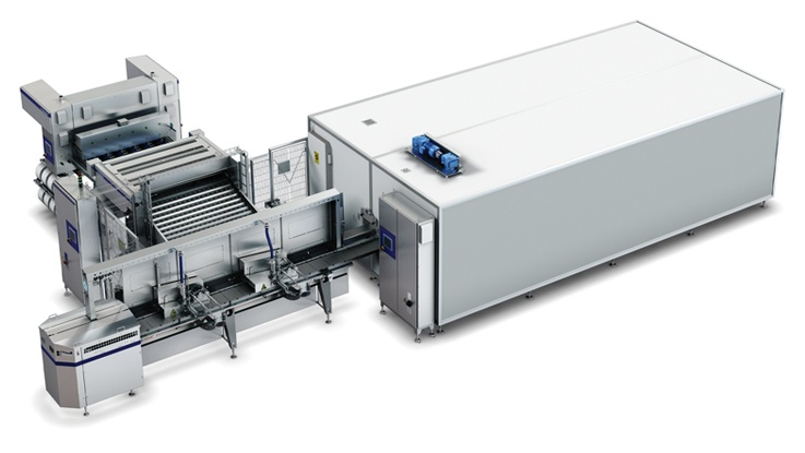 new ice cream extrusion line